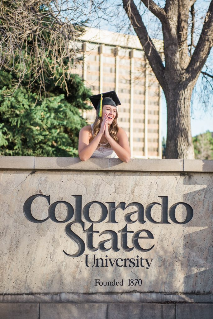 Colorado State University senior portraits, colorado senior portraits, CSU senior portraits, CSU graduation, Colorado State graduation, 2018 senior class, graduation photos inspiration, graduation pictures, senior pictures inspiration, colorado state university senior class