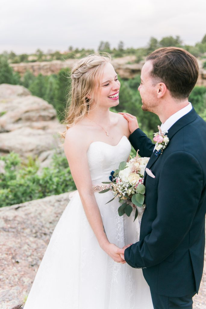 colorado wedding photos, steamboat spring wedding, Bella Vista Estate Steamboat springs, colorado wedding inspiration, boho wedding inspiration, boho colorado wedding, boho bride and groom, colorado mountain elopement, colorado wedding inspo, white floral inspiration, modern chic wedding, classic wedding details, modern wedding details, castlewood canyon wedding, castlewood canyon wedding photos, castlewood canyon pictures, castlewood canyon, mountain wedding