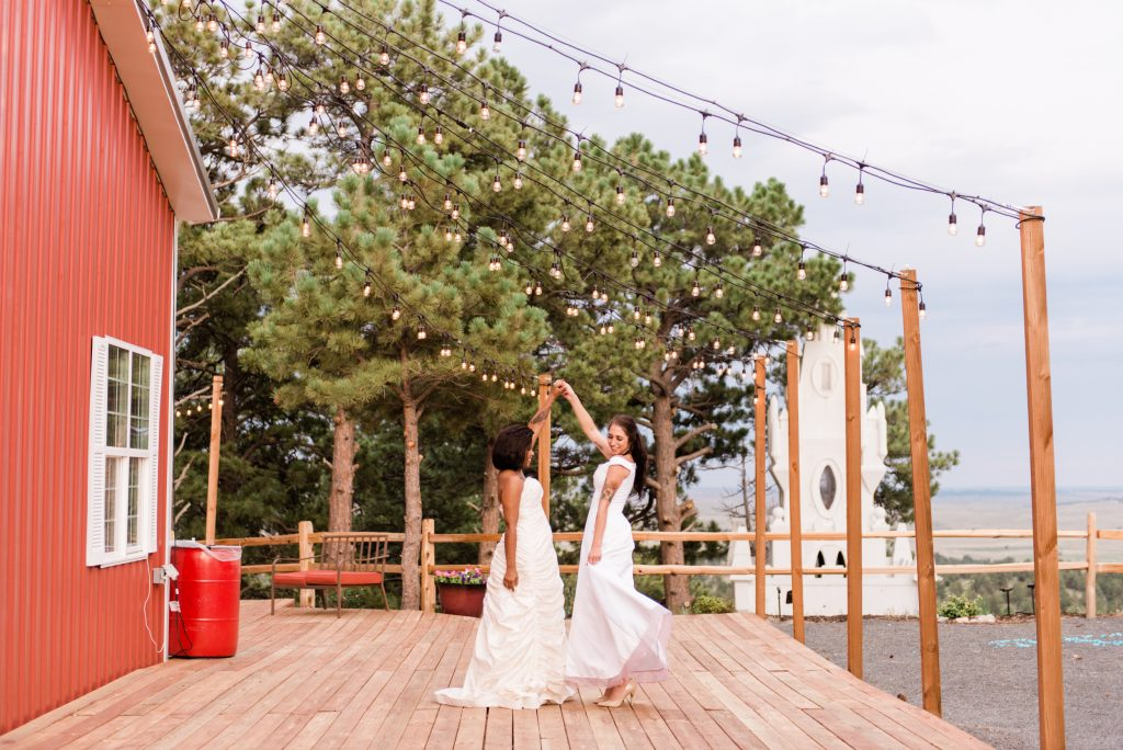 farmhouse wedding, rustic barn wedding, mountainside wedding photography, kiowa colorado wedding photography, once upon a wedding venue, colorado boho wedding photography, colorado boho wedding, allison ranslow photography, adventure wedding photography, colorado adventure wedding photography, colorado adventure elopement photography, boho bridal details, classic wedding gown, simple wedding florals, simple wedding dress, wedding first dance, wedding string lights