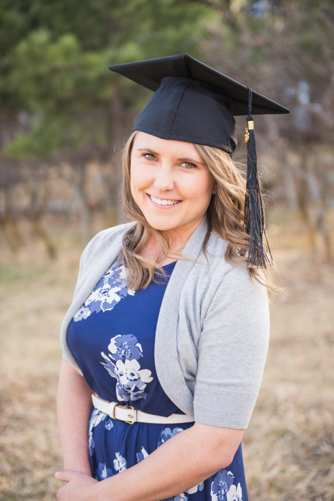 UCCS senior, UCCS senior portraits, UCCS graduate, university of colorado colorado springs, college graduate, colorado springs senior portraits, graduation outfit ideas, graduation outfit, cap and gown